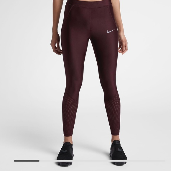 8b1241e4b812c Nike Pants | Maroon Leggings | Poshmark